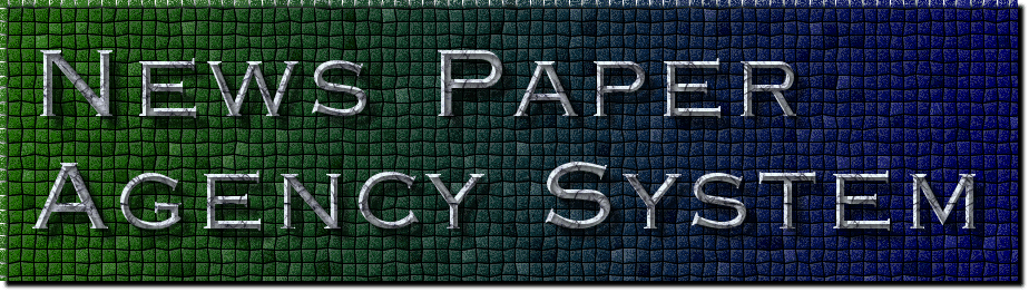 News Paper Agency System