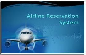 Online airlines reservation system