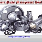 Spare Parts Management System