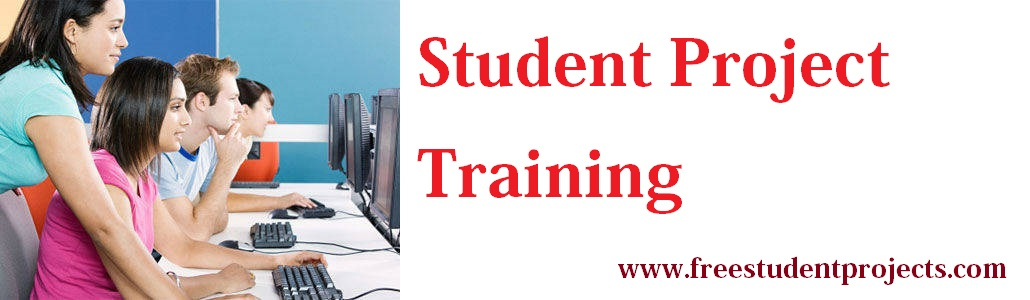 Student projects for VIT - Vellore