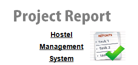 Hotel Management System Project report