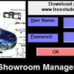 automobile showroom management system