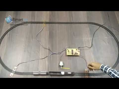 Android Controlled Railway Crossing Gates
