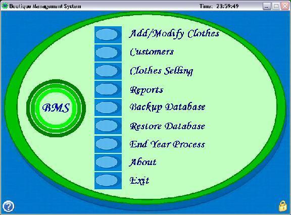 Boutique Management System Project