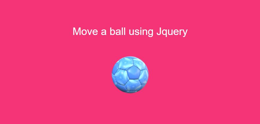 Jquery Animation Ball