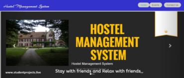 E-Hostel Management System