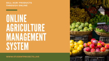 Online Agriculture Management system