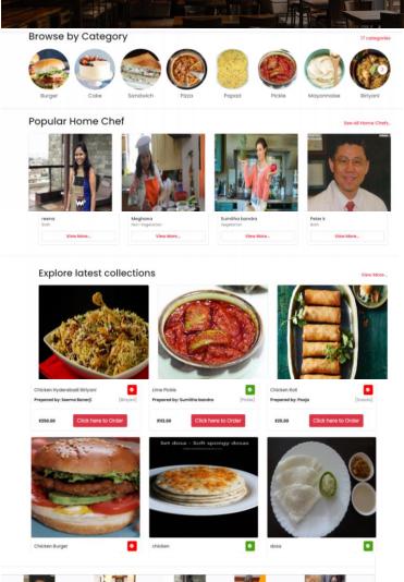 Cloud kitchen Portal